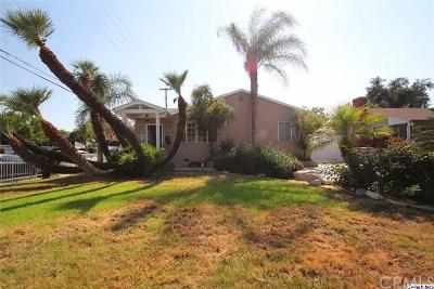 Burbank Single Family Home For Sale: 345 S Virginia Avenue