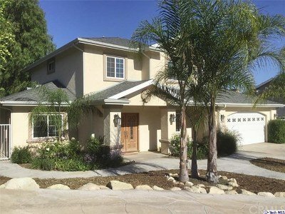 La Crescenta Single Family Home For Sale: 2625 Prospect Avenue