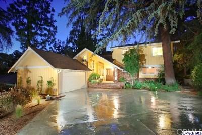 Burbank Single Family Home For Sale: 711 Wilson Court
