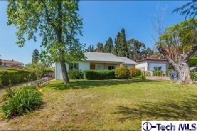 La Crescenta Single Family Home For Sale: 4419 Lowell Avenue
