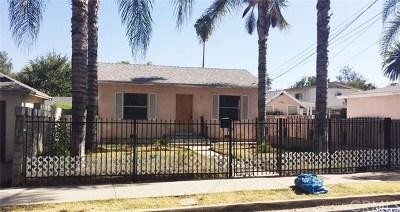 Pasadena Multi Family Home For Sale: 396 Buckeye Street