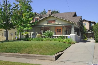 Pasadena Single Family Home For Sale: 651 S Mentor Avenue