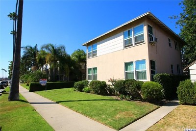 Glendale Multi Family Home For Sale: 947 W Glenoaks Boulevard