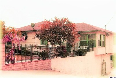 Los Angeles Single Family Home For Sale: 3818 Floral Drive