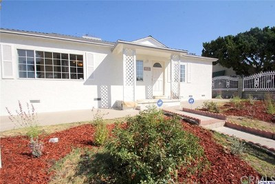 North Hollywood Single Family Home Active Under Contract: 12833 League Street