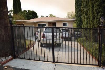 Tujunga Single Family Home For Sale: 7046 Apperson Street
