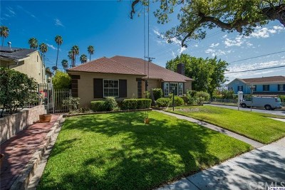 Glendale Single Family Home For Sale: 1400 Birch Avenue