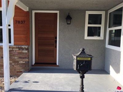 Sunland Single Family Home For Sale: 7837 McGroarty Street