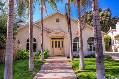 Glendale Single Family Home For Sale: 1313 Spazier Avenue