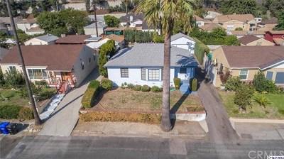 La Crescenta Single Family Home For Sale: 2949 Fairway Avenue