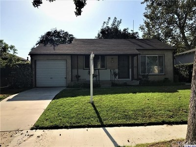 Burbank Multi Family Home Active Under Contract: 807 N Griffith Park Drive