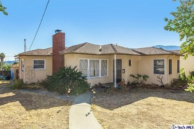 La Crescenta Single Family Home For Sale: 2834 Sanborn Avenue