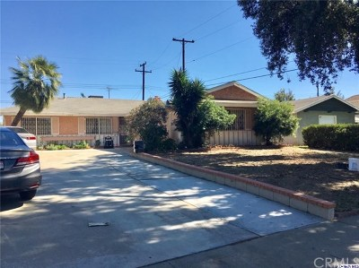 Pomona Single Family Home For Sale: 1646 Lantana Way