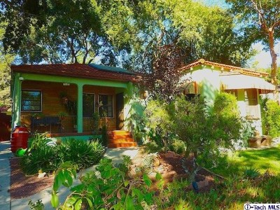 Pasadena Single Family Home For Sale: 777 Atchison Street