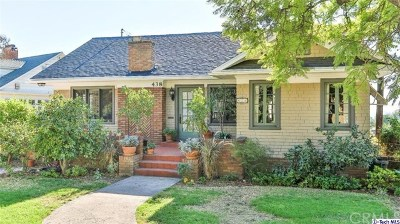 Glendale Single Family Home For Sale: 438 W Kenneth Road
