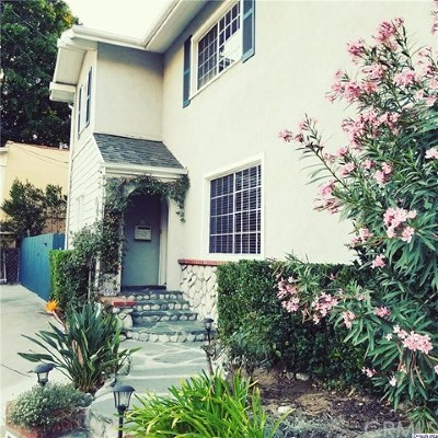 Glendale CA Single Family Home For Sale: $3,800