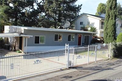 La Crescenta Single Family Home For Sale: 4939 Cloud