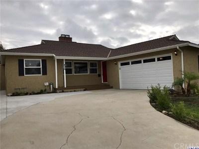 Burbank Single Family Home For Sale: 436 University Avenue