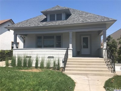 Glendale Single Family Home For Sale: 1123 E Broadway