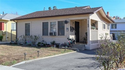 Glendale Multi Family Home Active Under Contract: 1160 Linden Avenue