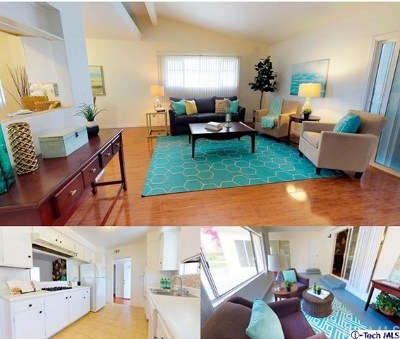 La Crescenta Single Family Home For Sale: 3811 El Moreno Street