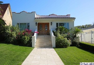 Glendale Single Family Home For Sale: 1420 Dorothy Drive