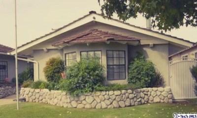 Covina Single Family Home For Sale: 1065 E Wanamaker Drive
