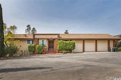 Glendale Single Family Home For Sale: 1755 Rohr Street