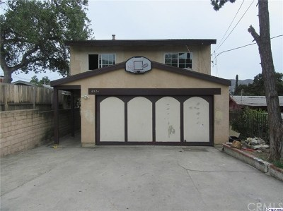 Tujunga Single Family Home For Sale: 6524 Olcott Street