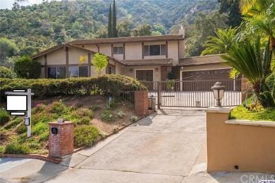 Glendale Single Family Home For Sale: 3235 Barnes Circle