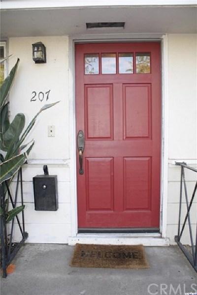 Burbank Single Family Home For Sale: 207 N Naomi Street