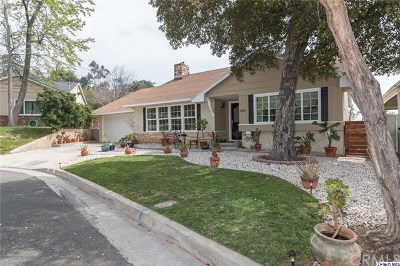 La Canada Flintridge Single Family Home Active Under Contract: 2106 Tondolea Lane