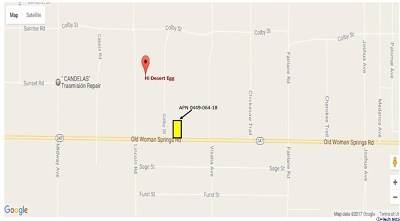 Lucerne Valley Residential Lots & Land For Sale: 0 Old Woman Springs Road