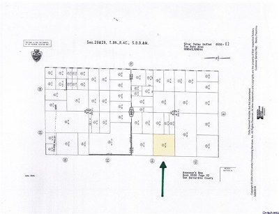 Newberry Springs Residential Lots & Land For Sale: 0530-022-44