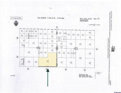 Newberry Springs Residential Lots & Land For Sale: 0530-022-30