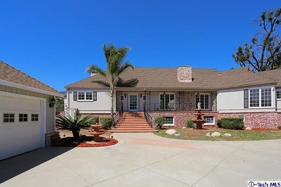 Duarte Single Family Home For Sale: 915 Edie Drive