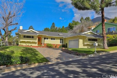 La Canada Flintridge Single Family Home For Sale: 5441 Rock Castle Drive