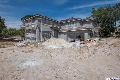 Tujunga Single Family Home For Sale: 7225 Lucky Way