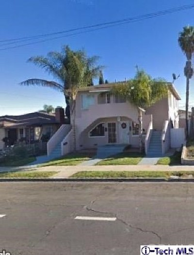 San Pedro Multi Family Home For Sale: 2110 S Grand Avenue