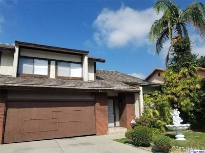 Monterey Park Single Family Home For Sale: 457 Jade Tree Drive