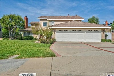 La Verne Single Family Home Active Under Contract: 7035 Country Club Drive