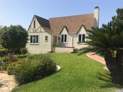 Glendale Single Family Home Active Under Contract: 1215 Green Street