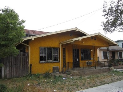 Glendale Single Family Home For Sale: 1006 E Lomita Avenue