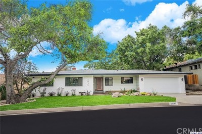 Pasadena CA Single Family Home For Sale: $1,300,000