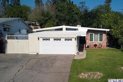Tujunga Single Family Home Active Under Contract: 9728 Pali Avenue