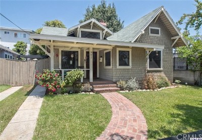 Pasadena Single Family Home Active Under Contract: 983 Locust Street