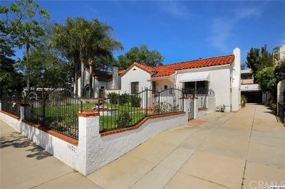 Toluca Lake Single Family Home For Sale: 11121 Landale Street