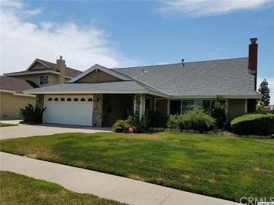 La Habra Single Family Home For Sale: 1371 Ironwood Street