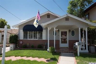 Glendale Single Family Home For Sale: 3320 Prospect Avenue