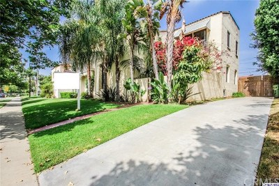 Los Angeles Multi Family Home For Sale: 1071 S Hayworth Avenue
